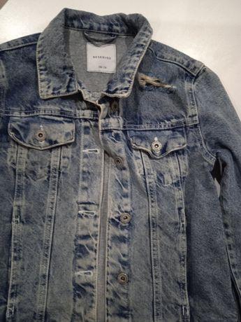 Reserved jeansowa katanka 158