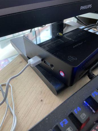 computador Mini PC beelink gemini X  6GB / SSD 128GB ( atual )