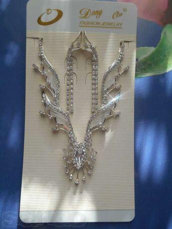 Dong Qu Fashion Jewelry. Ожерелье и серьги