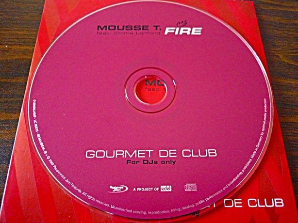 CD «Mousse T feat. Emma Lanford - Fire»