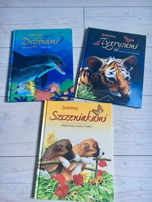 Książki Jesteśmy Delfinami, Tygrysami, Szczeniakami