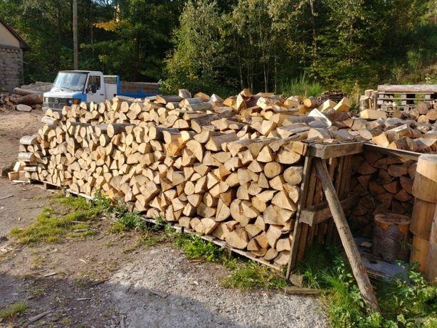 drewno kominkowe buk układane szeroki wybór / foszty jesionowe 5m3