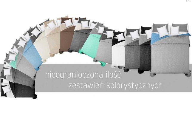 NARZUTA DWUSTRONNA 200x220 (220x240) pikowana kolory NOWA