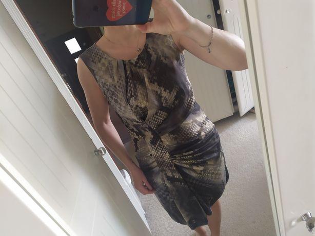Monnari sukienka 38 wzory panterka cętki