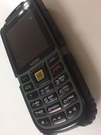 Противоударный телефон ip68 NOMI i242 x-treme