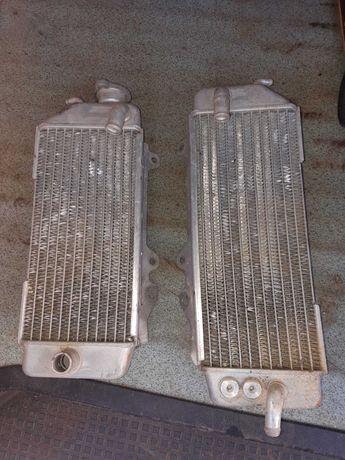 2 radiadores para moto