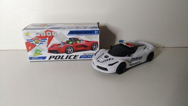 Полицейская машинка ,22,5см,1:18, ездит, звук(англ,сирена),3Dсв
