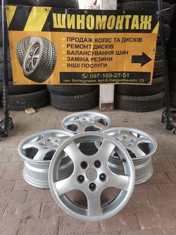 Диски r15 5×112 7j et35 Skoda VW Audi Seat титани оригінал ціна за 4шт