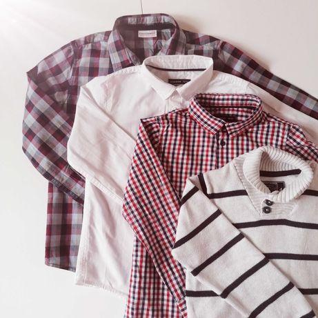 Zestaw 3 koszule i sweter, rozmiar 122, Mega paka, Reserved