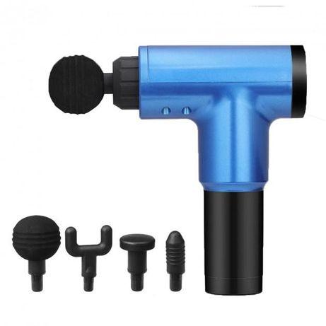 Портативный мышечный массажер Epimol Fascial Gun HF-280 Blue
