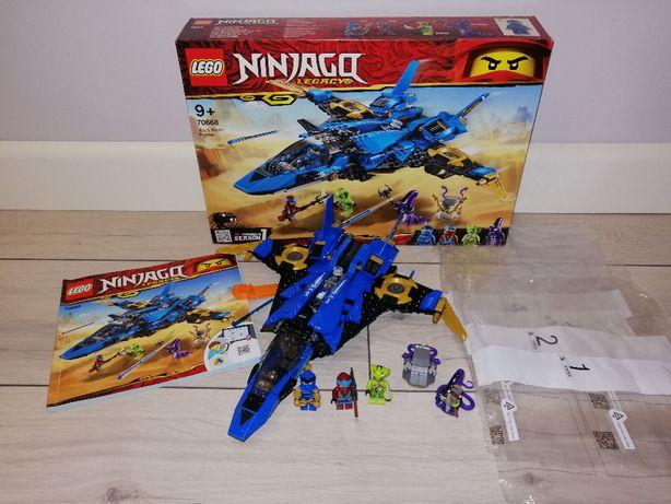 Lego Ninjago 70668 Burzowy Myśliwiec Jay'a. OPIS.