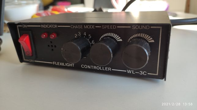 Sterownik świateł FLEXILIGHT WL-3C