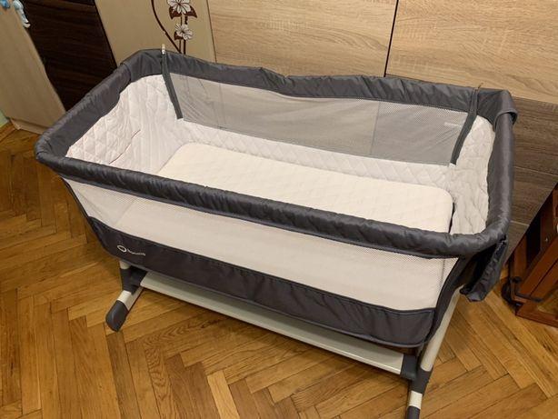 Кроватка приставная для младенца Lionelo Theo