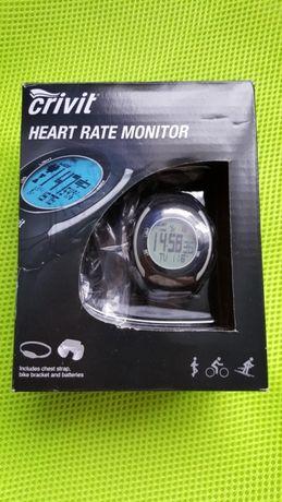 zegarek pulsometr z pasem na klatkę piersiową