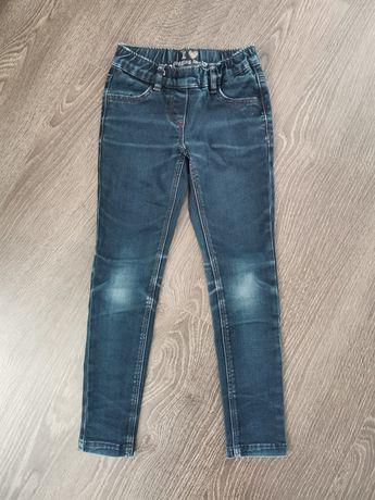 Spodnie rurki jeans 128