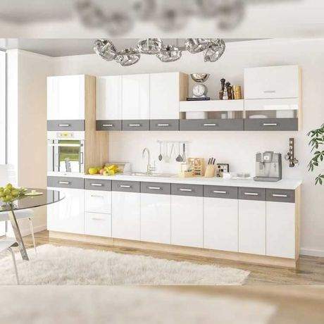 Кухня білий глянець