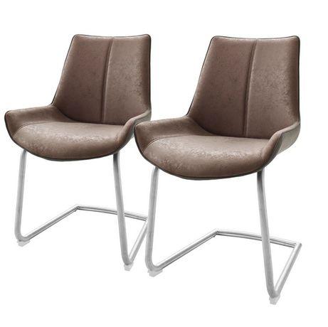 Krzesło tapicerowane do kuchni salonu Saval 2 szt. M018