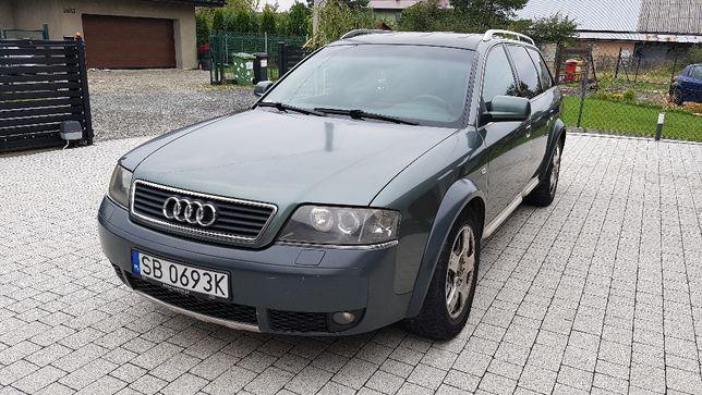 Audi A6 Allroad 2,5 tdi man + CZĘŚCI