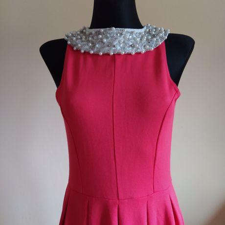Sukienka koralowa firmy Bonprix