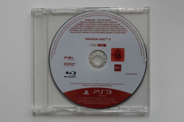 Dragon Age II 2 / PS3 / PROMO / Ideał / Unikat