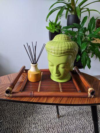Taca bambusowa, vintage, orient, boho, etno, Azja, dodatki, dekoracja