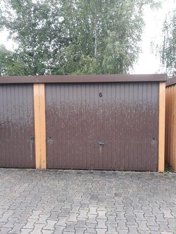 Garaż teren zamkniety