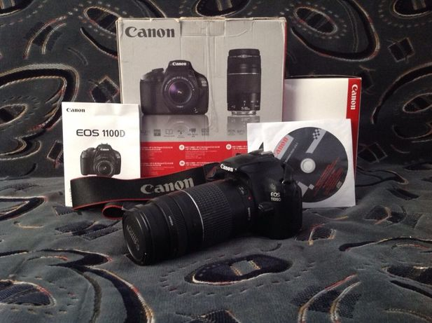 продам Canon 1100d 18-55 IS II