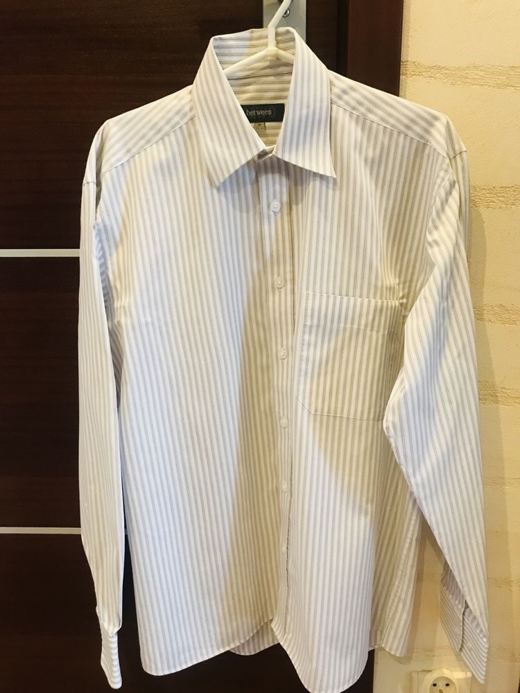 Koszula PAWO klasyczna, XL. Nie SLIM, rozmiar 39, 176-182
