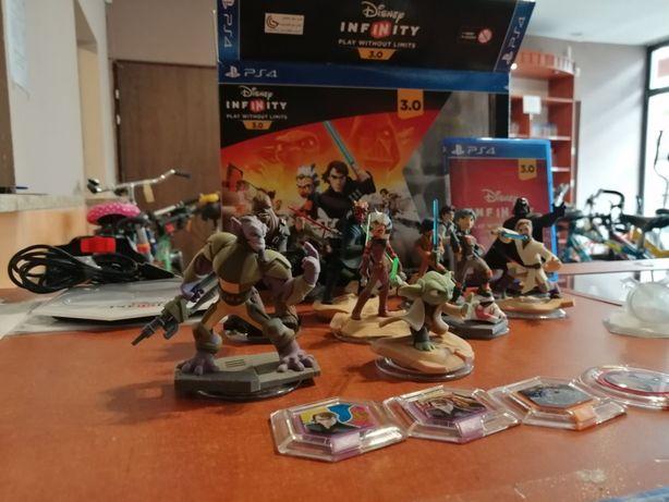 Zestaw Star Wars Infinity 3.0 PS4 12 Figurek !!