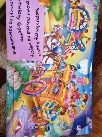 Pinokio i brzydkie kaczątko 2 książeczki dla dzieci