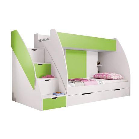 Łóżko dziecięce piętrowe MARCELEK w super cenie NOWOŚĆ