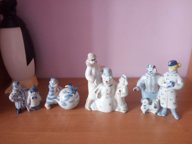статуэтки Зимний дворик