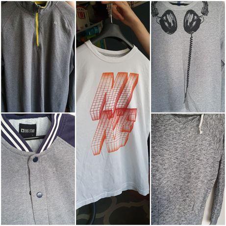 Ubrania męskie bluzy nike h&m rozmiar M