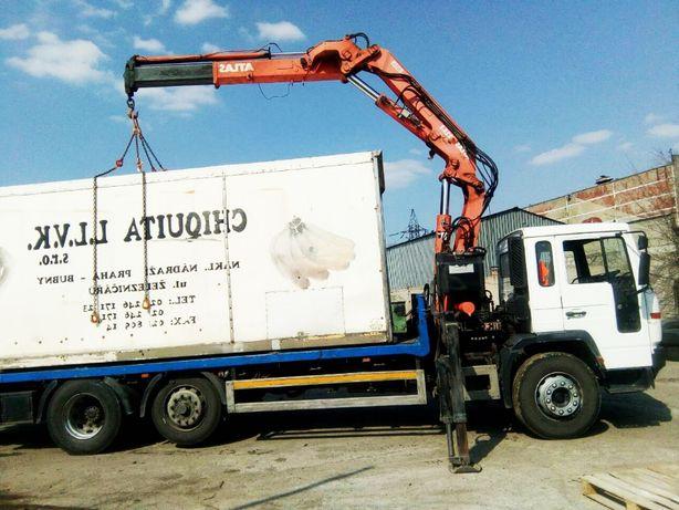Кран-манипулятор Днепр Volvo 16 т по области перевозка груза доставка