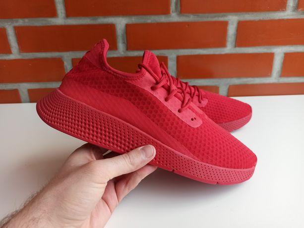 Pull & Bear красные мужские кроссовки сетка размер 42 пулл беар европа