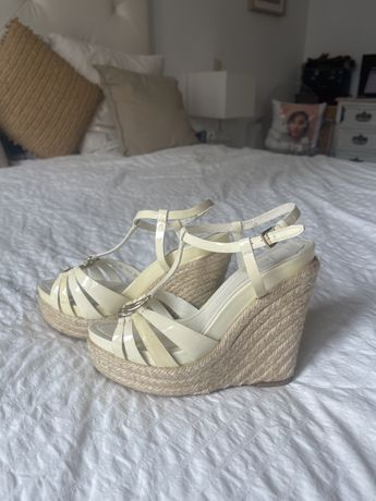 Sandalias Dior beige