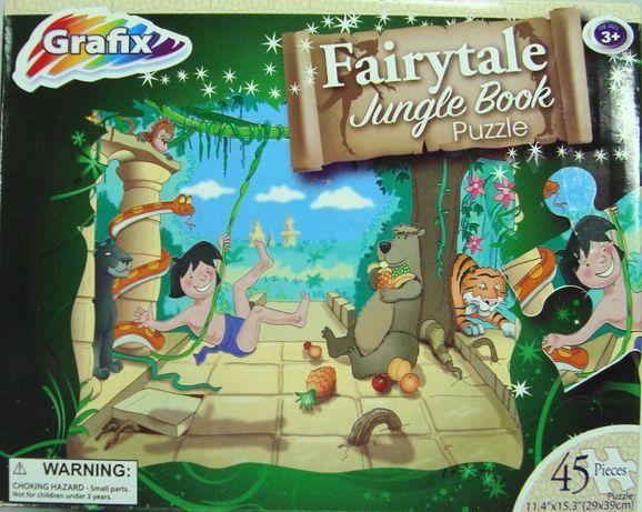 Puzzle Grafix Fairytale Jungle Book Puzzle 45 XXL elementów