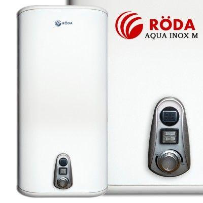 Бойлер(водонагреватель) электро Röda Aqua INOX M (плоский,нерж.сталь)