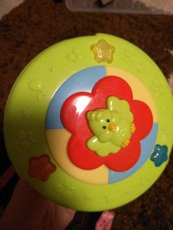 Крутая игрушка крутилка трещетка