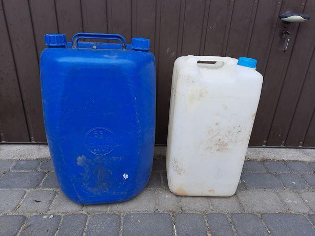 Bańki plastikowe 30l - 55 l