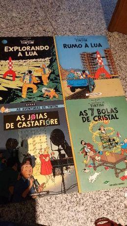 Livros As Aventuras de Tim Tim edições anos 80 e 90