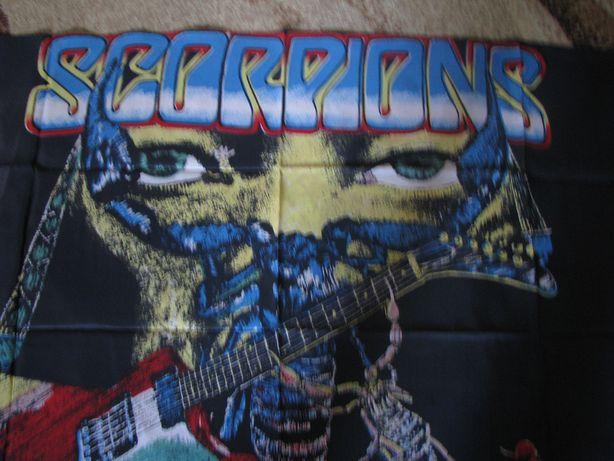 Баннер Постер Флаг Usher Scorpions