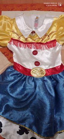 Платье Джесси 7-8 лет История игрушек подружка Вуди