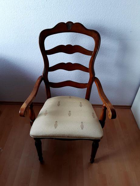 Stylowe krzesło fotel