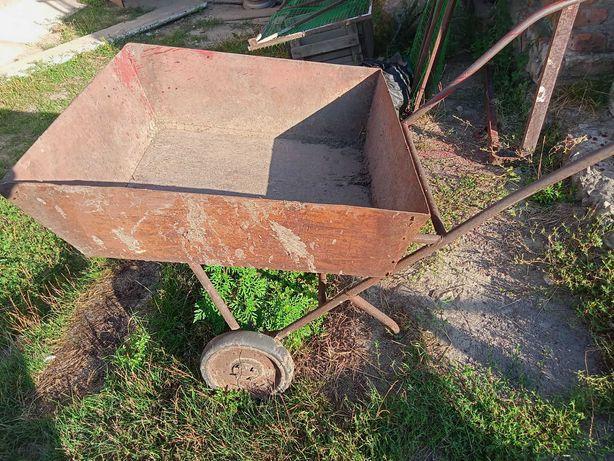 Металевий садовий візок на підшипниках