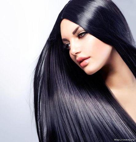 Кератиновое выравнивание волос. Лечение. Botox.
