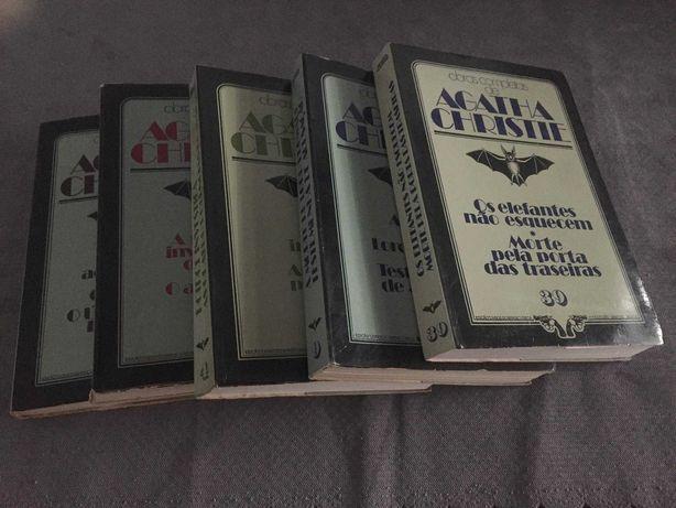 Agatha Christie - nº. s- 1 - 4 - 9 - 39 - 40