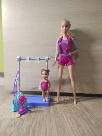 Кукла барби тренер коллекция профессии