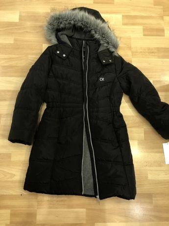Детская зимняя куртка Calvin Klein оригинал на девочку 8-10 лет