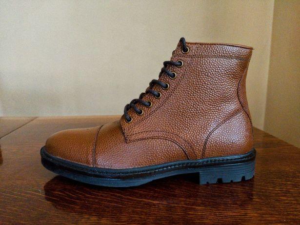 Нові шкіряні черевики Asos